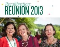 Recalibration: Reunion 2013