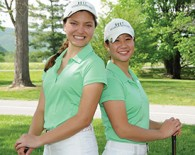 Shannon Ciccarello /17 and Elizabeth Cheng '15