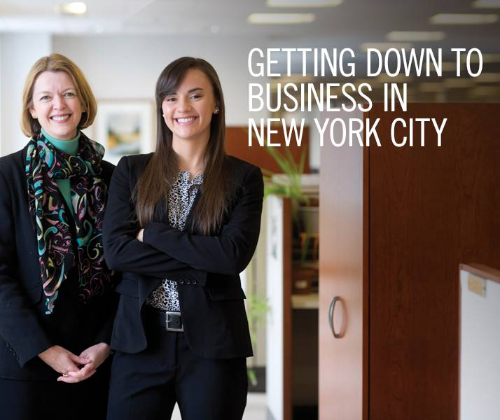 Getting Down to Business in New York City