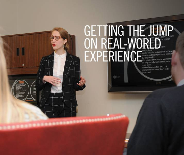 Getting the Jump on Real-World Experience
