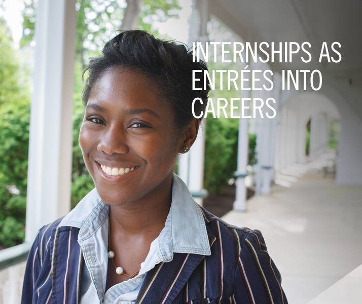 Internships as Entrees into Careers
