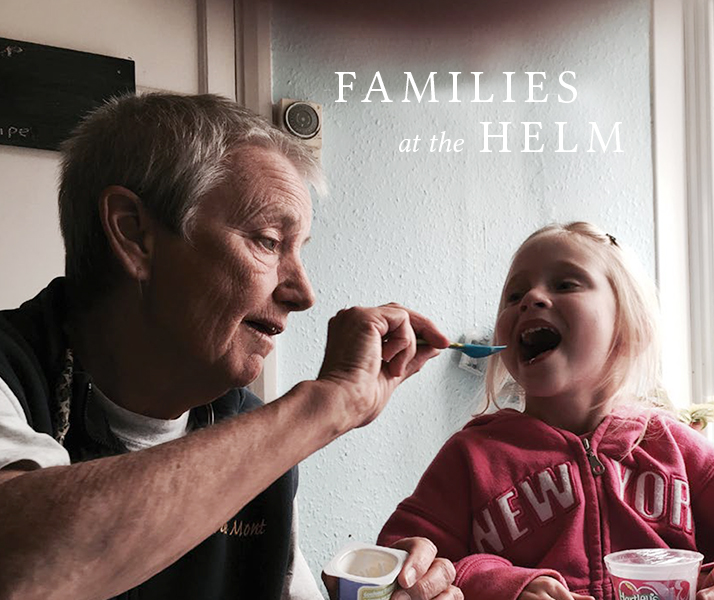 Families at the Helm