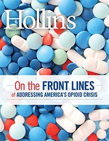 Hollins Magazine Winter 2018 issue