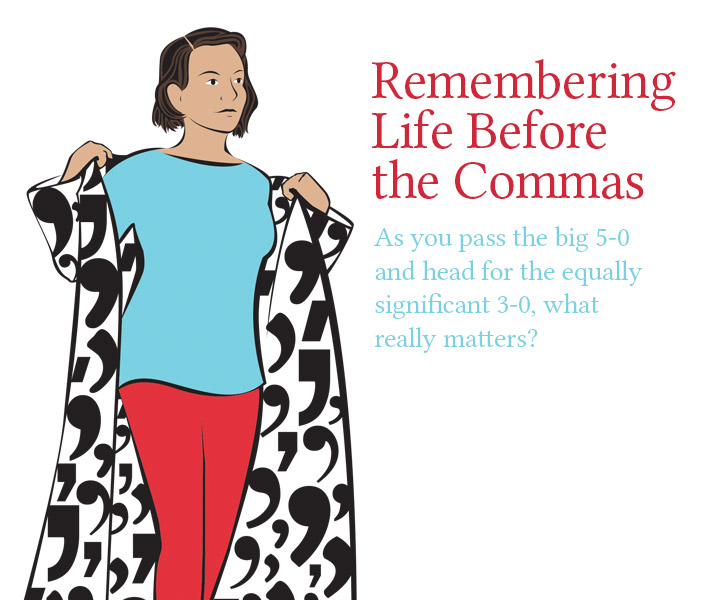 Remembering Life Before the Commas