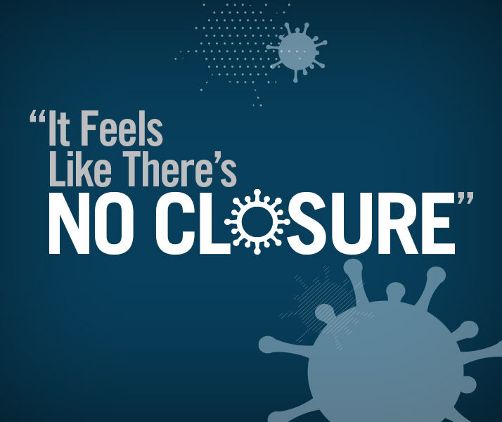 It Feels Like There's No Closure