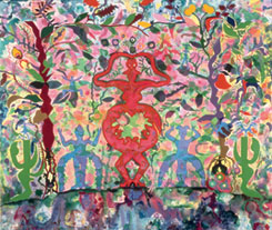 Miriam Schapiro, The Garden