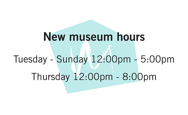 new museum hours