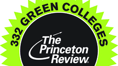 "Hollins Featured in ""The Princeton Review's Guide to 332 Green Colleges: 2014 Edition"""