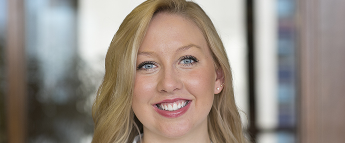 Alexandria Heldreth '15 interned with Silvercrest Asset Management in New York City.