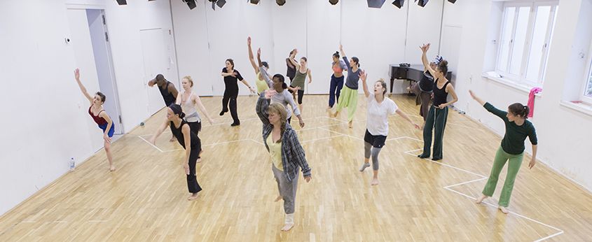 M.F.A. Dance international residencies