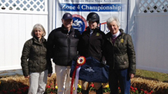 Poole Takes Fourth in Open Equitation Over Fences at IHSA Nationals