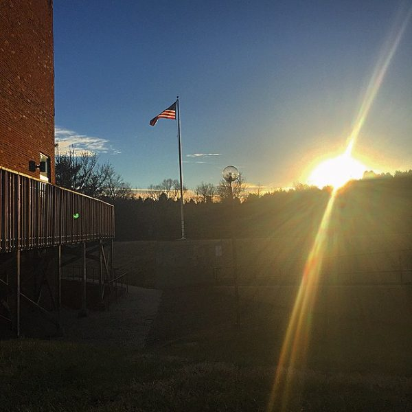 really appreciating the sun today #myhollins