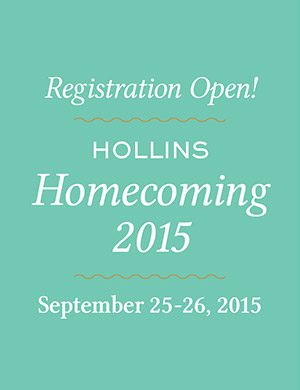 Registration is open for Hollins Homecoming 2015
