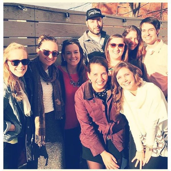 Repost from @kkbee52 so glad I got to see some of my favorite people today! @ardent #ardent @emmaalettasays @naffynaff @holliecollie12 @tayrva @elawall @cpslate (not pictured @laurenkellyblack ) #hollins #myhollins #truefriends