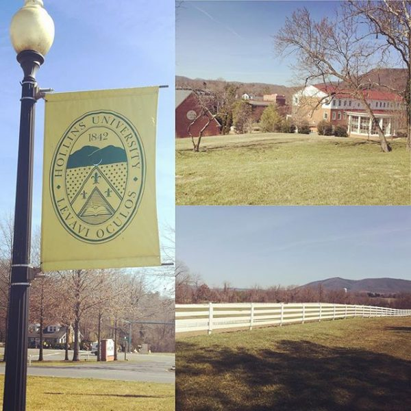 Running is not fun. However, running on this beautiful campus makes it a little more enjoyable  #myhollins #hollinsuniversity #rke