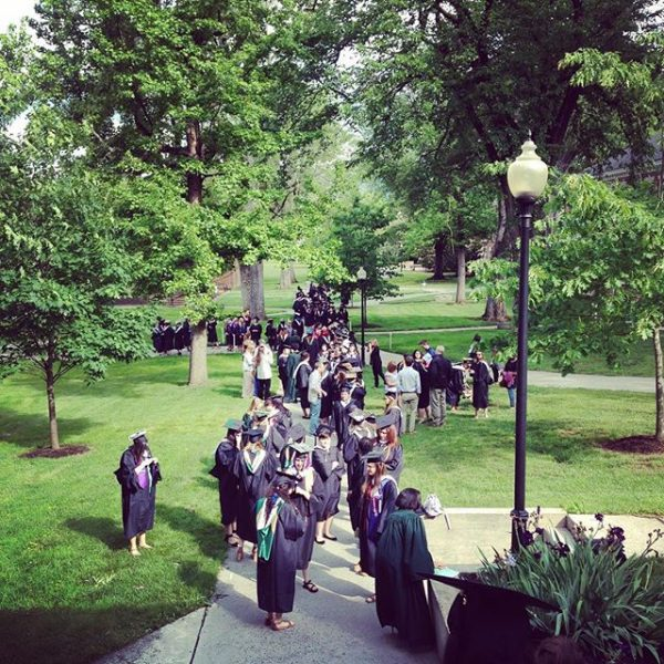 Do you remember this? #HUgrad16 #myhollins