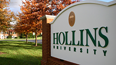 Hollins Earns Accolades from Major National College Guides