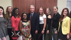 Hollins Students Join Former Ambassador at Foreign Policy Dialogue