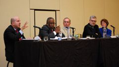 Gray Leads Forum on College Presidents' Role in Promoting Campus Inclusivity