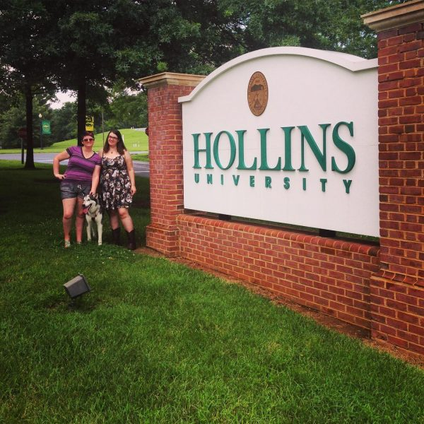 friends hollins sign