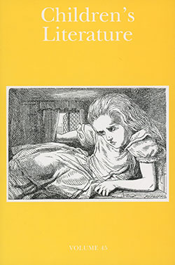 Image of cover of Children's Literature Journal, Vol. 45