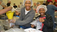 Hollins Partners with Rise Against Hunger to Support International Hunger Relief