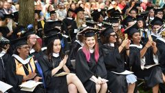 """Stand Tall, Forge Ahead"": Hollins Celebrates Its 176th Commencement"