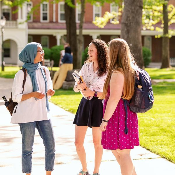 Photo of students on Front Quad