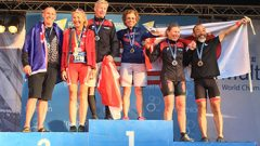 Suzy Mink '74 Wins Triathlon Gold in Denmark