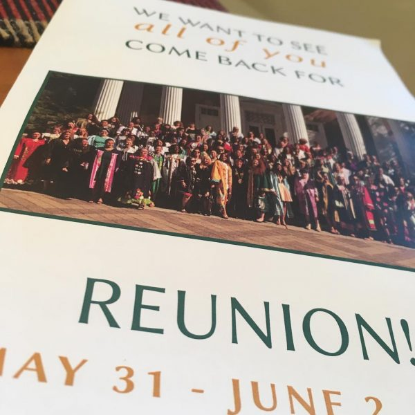 Image of notice for Reunion 2019