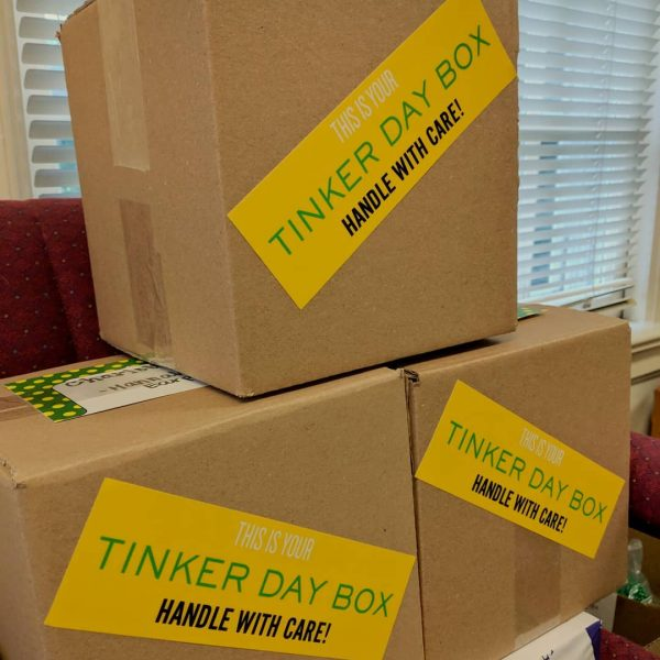 Photo of Tinker Day boxes