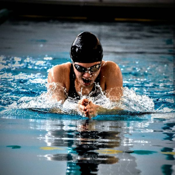Photo of Hollins swimmer