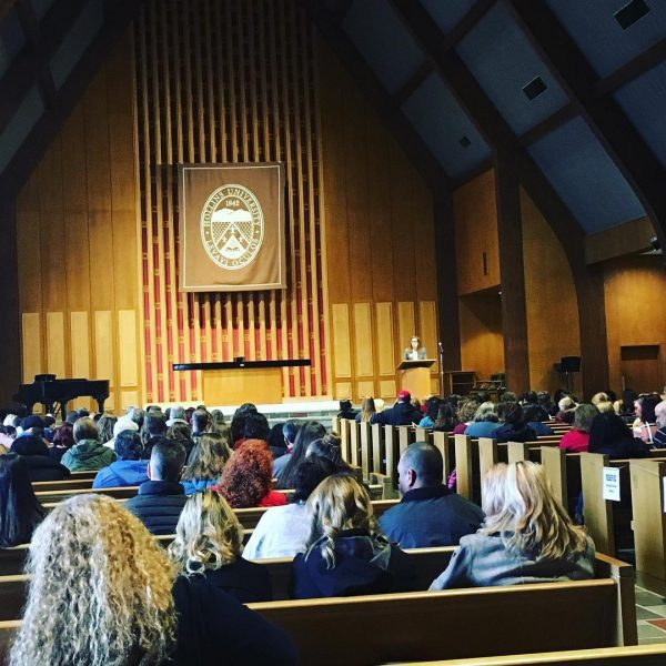 Photo of Chapel for Distinguished Scholars Weekend