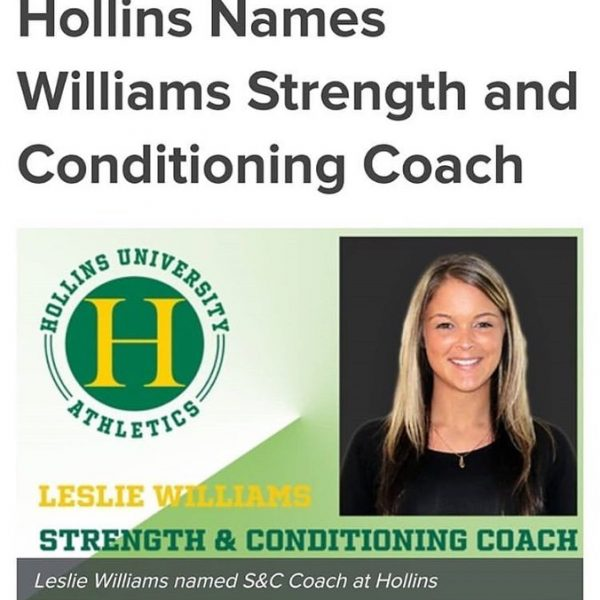 Photo of new strength & conditioning coach