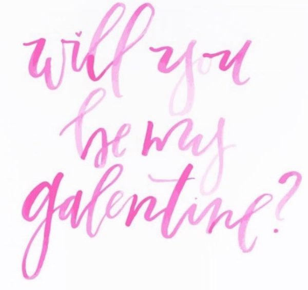 image of Will you be my galentine?