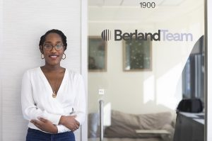 Photo of Christina Henry interning at Berland Team in NYC