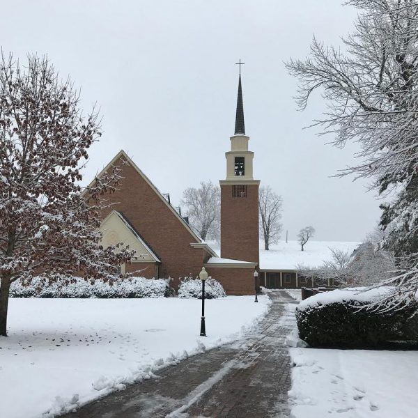 Photo of Chapel in the snow