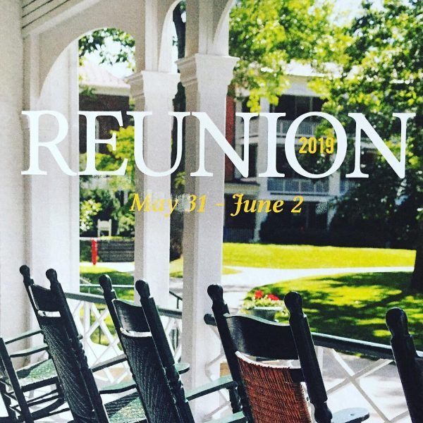 Registration for reunion 2019
