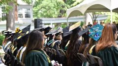 """Keep On Defeating Those Mountains"": Class of 2019 Is Celebrated At 177th Commencement"