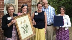 Gift To Wilson Museum's Permanent Collection Honors Hollins Staff Member
