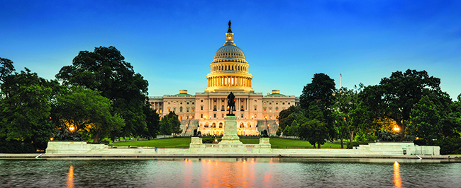 Photo of Capitol Building in Washington, DC
