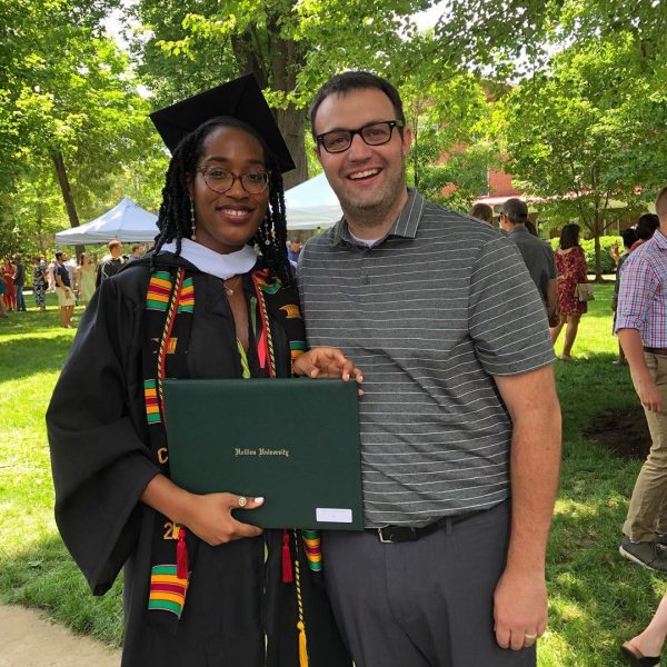 Former Hollins faculty with graduate