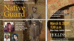 "Hollins Theatre Presents Natasha Trethewey's Acclaimed ""Native Guard,"" March 8"