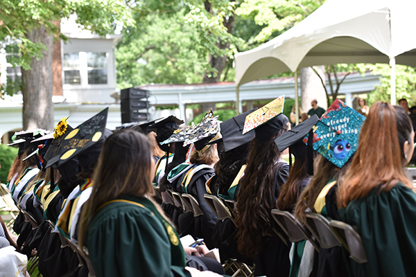 Hollins Celebrates 179th Commencement May 19