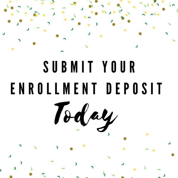 Submit your deposit