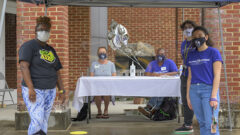 """Moving """"Carefully Onward,"""" Hollins Reopens for Fall Term"""