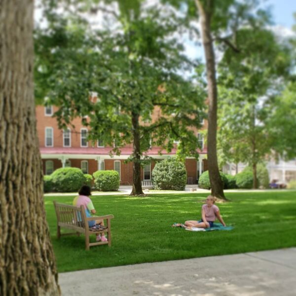 Students on Front Quad
