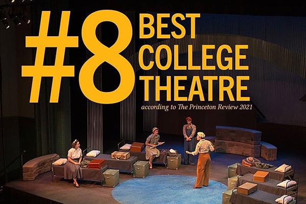 Princeton Review Theatre Ranking