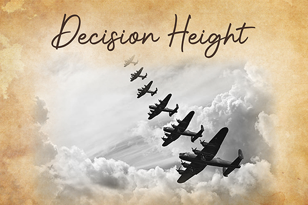 Decision Height Graphic