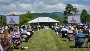 179th Commencement Stage